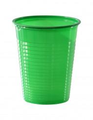 50 grønne plastikkrus 20 cl
