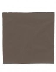 50 Servietter Chokolade 38 x 38 cm