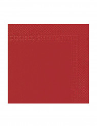 50 røde servietter 38 x 38 cm