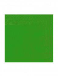 50 grønne servietter 38 x 39