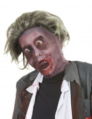 Hættezombie med paryk voksne Halloween