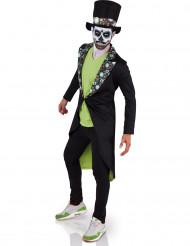 Kostume Día de los Muertos voksen Halloween