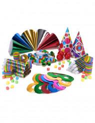 Party-sæt i flere farver 10 personer