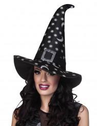 Heksehat med stjerner til kvinder Halloween