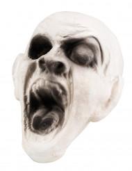 Dekoration zombie hoved 15x15 cm Halloween