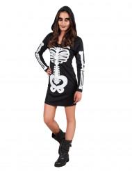 Kostume skelet med hætte teenager Halloween