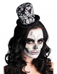 Mini skelethat til kvinder Halloween