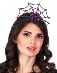 Tiara violet edderkop til kvinder Halloween