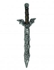 Sværd skelet 54 cm i plastik