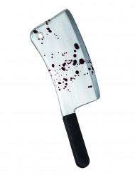 Machete blodplettet 45 cm i plastic
