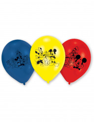 6 Mickey Mouse™ balloner i latex