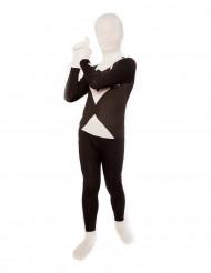Sort og hvidt Morphsuits™ kostume