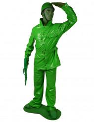 Kostume Morphsuits™ tinsoldat voksen
