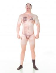 Morphsuits™ Nøgen censureret Billy - kostume voksen