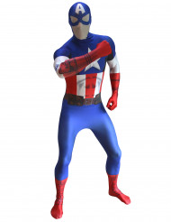 Morphsuits™ Captain America-dragt digital voksen