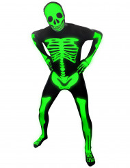 Kostume selvlysende skelet voksen Morphsuits™