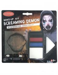 Halloween dæmon sminke sæt