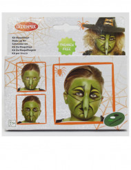 Makeup sæt heks børn Halloween