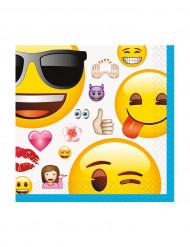 16 Emoji™ Servietter