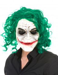 Latexmaske harlekin psykopat Halloween