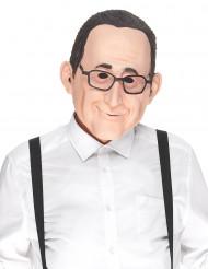 Humoristisk latexmaske François til voksne