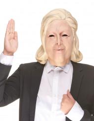Humoristisk latexmaske Marine Le Pen