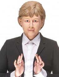 Humoristisk latexmaske Angela Melker til voksne