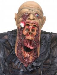 Latexmaske zombie voksen