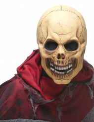 Latexmaske dødningehoved voksen