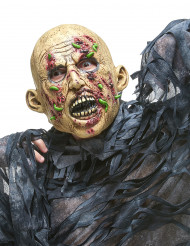 Latexmaske zombie i forrådnelse voksen