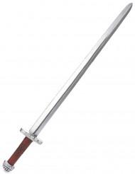 Sølv og brunt riddersværd