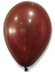 50 Metalliske brune balloner