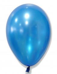 50 Metallisk blå balloner