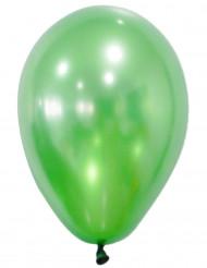 50 grønne metallicfarvede balloner