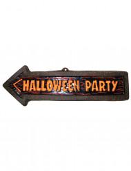 Dekoration væg skilt Halloween Party