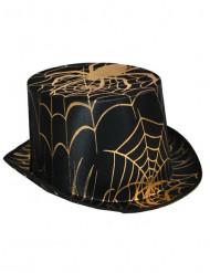 Hat med edderkoppespind Halloween voksen