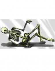 Dekoration skelet 75x150 cm