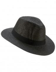 Grå Panama hat