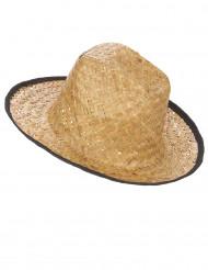 Cowboyhat med sorte kanter