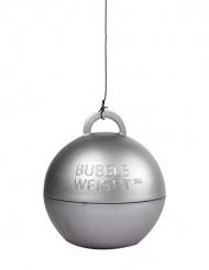 Sølvfarvet vægt/tyngde til heliumballon
