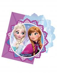 6 Invitationskort + konvolutter Frost™