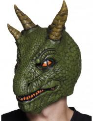Latexmaske dinosaurus voksen