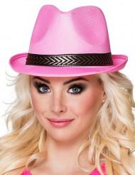 Borsalino hat lyserød