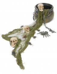 Heksekedel Halloween dekoration