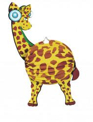 Papir lanterne giraf 45 cm