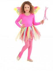 Kit regnbue fe-prinsesse til børn