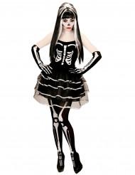 Kostume med nederdel i tyl voksen halloween til kvinder