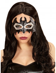 Flagermusmaske med glimmer