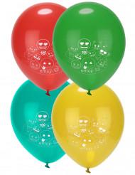 8 Latexballoner Emoji™