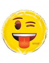 Ballon aluminium blinke Emoji™